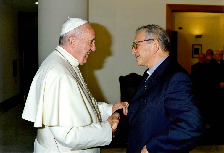 don Gaetano e Papa Francesco
